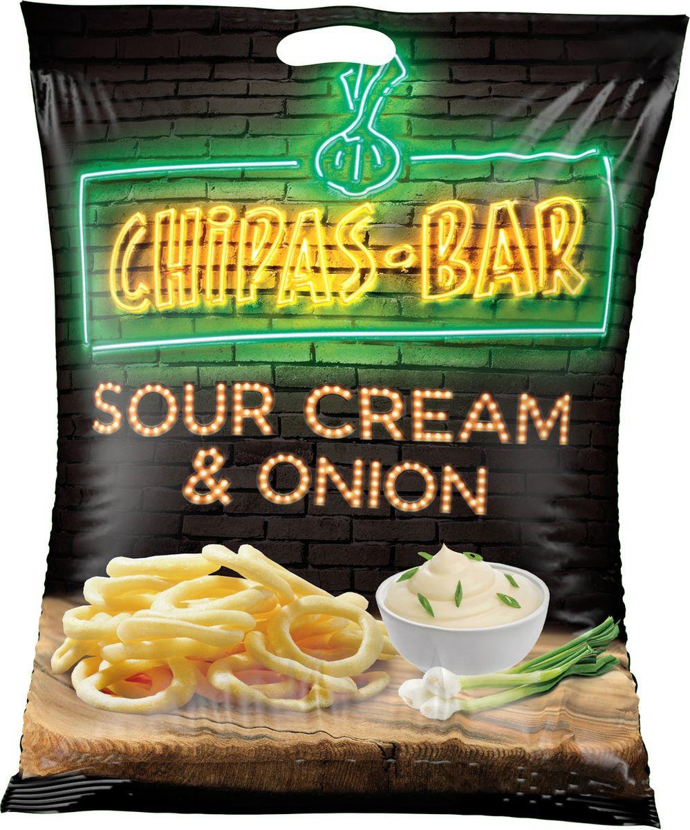 Снэки Chipas Bar, со вкусом сметаны и лука, 50 г Chipas Bar