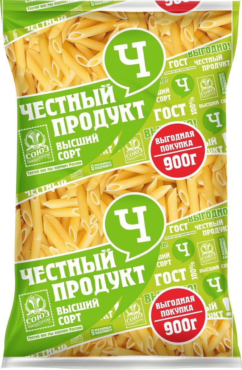 """Макароны Честный продукт """"Перья"""", 900 г"""