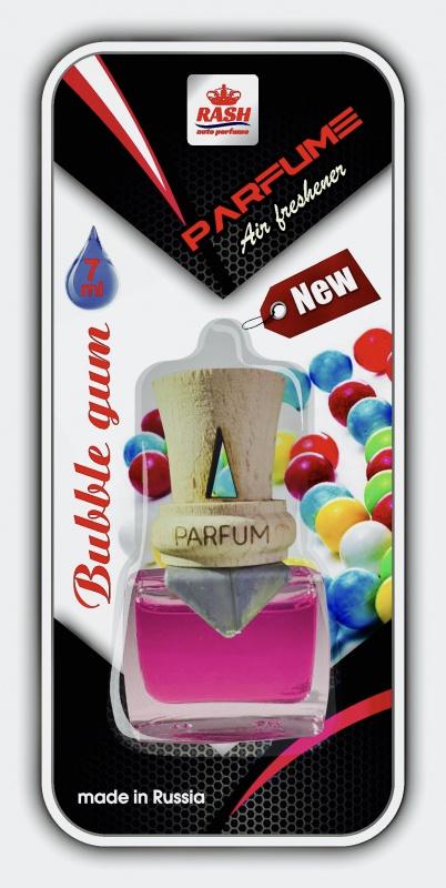Автомобильный ароматизатор RASH на дефлектор авт. с дер. буковой крышкой PARFUM BUBBLE GUM цена в Москве и Питере