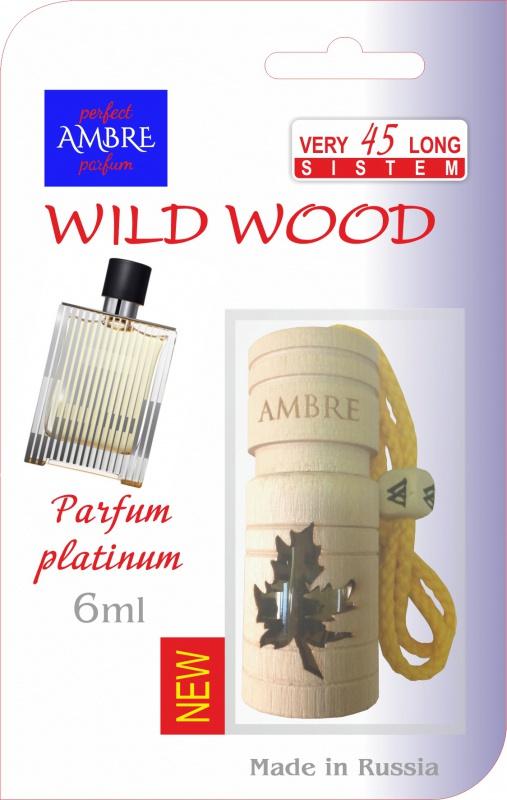 Автомобильный ароматизатор RASH подвесной в натуральном дереве WILD WOOD PARFUM PLATINUM deliss автомобильный подвесной ароматизатор саше harmony 7 8г