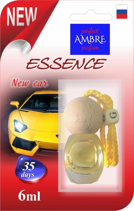 Автомобильный ароматизатор RASH подвесной с деревянной буковой крышкой ESSENCE NEW CAR deliss автомобильный подвесной ароматизатор саше harmony 7 8г