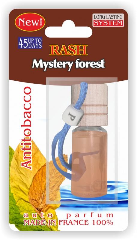 Автомобильный ароматизатор RASH подвесной с деревянной буковой крышкой Mystery forest ANTITOBACCO ароматизатор 01387