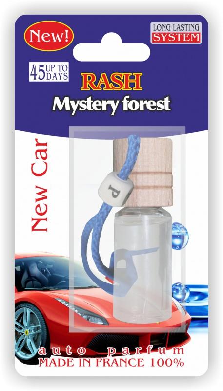 Автомобильный ароматизатор RASH подвесной с деревянной буковой крышкой Mystery forest NEW CAR ароматизатор jackfruit