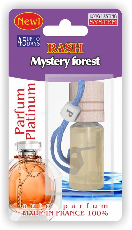 Автомобильный ароматизатор RASH подвесной с деревянной буковой крышкой Mystery forest PARFUM ароматизатор 01387