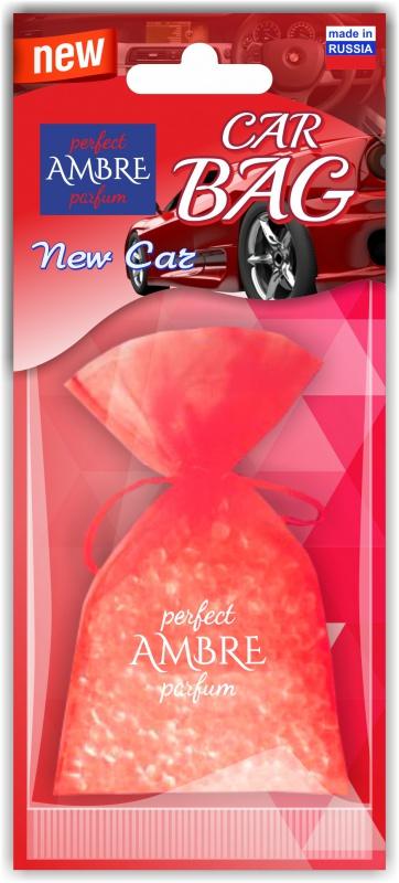 Автомобильный ароматизатор RASH подвесной мешочек с гранулами CAR BAG NEW CAR мешочек ароматизатор 4 буквы