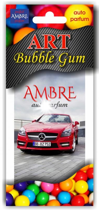 Автомобильный ароматизатор RASH подвесной картонный BUBBLE GUM по 3 шт цена в Москве и Питере