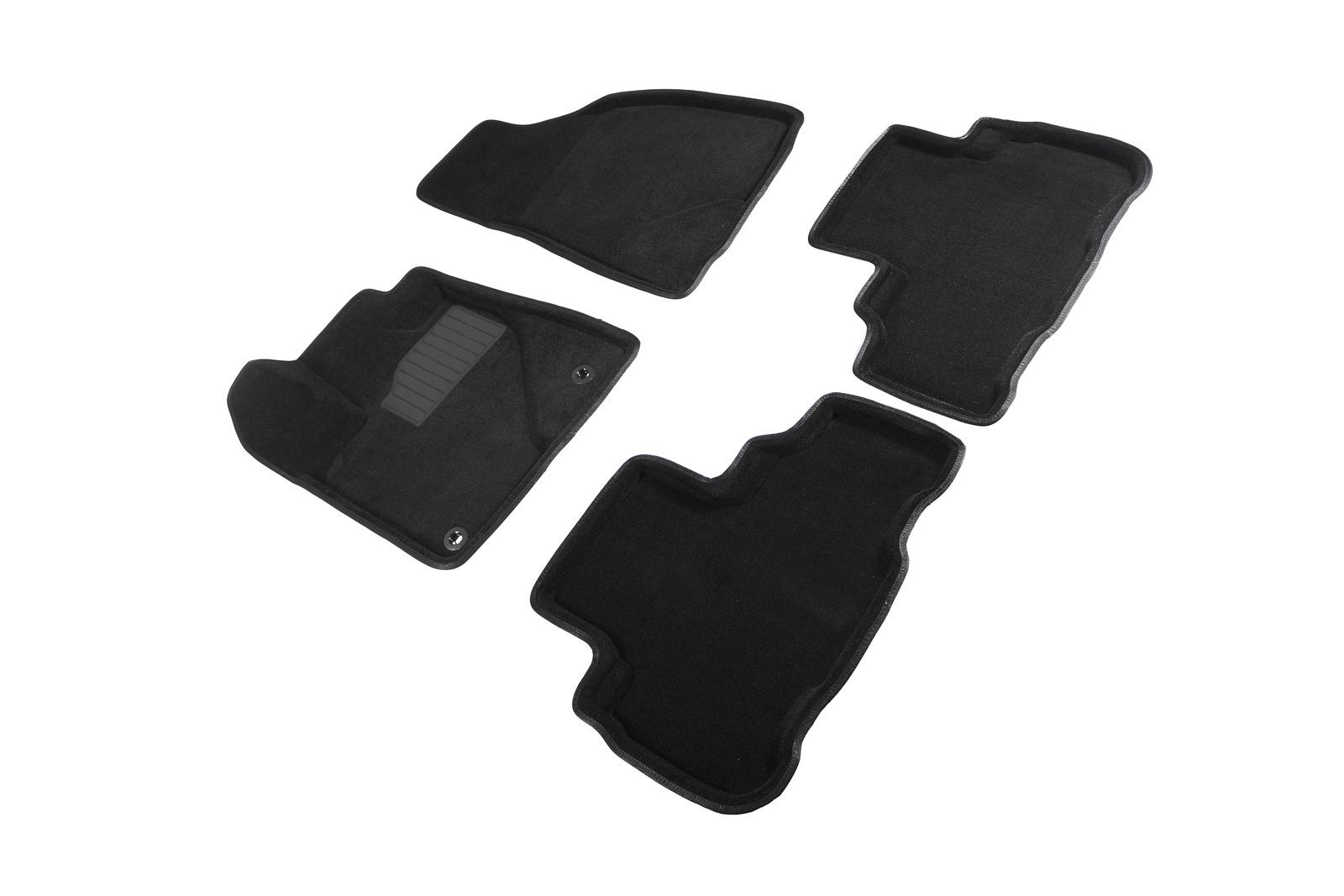 Коврики в салон автомобиля Seintex 3D коврики для Toyota Highlander III 2013-н.в. коврики салона rival для toyota rav4 2013 2015 2015 н в резина 65706001