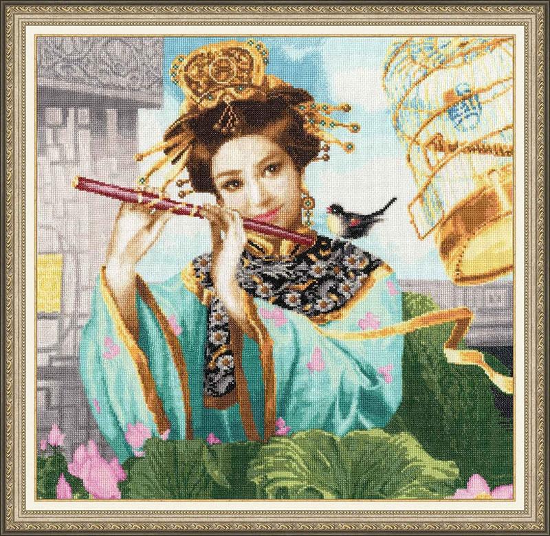 Набор для вышивания Золотое Руно Волшебная флейта набор для вышивания золотое руно мамина помада