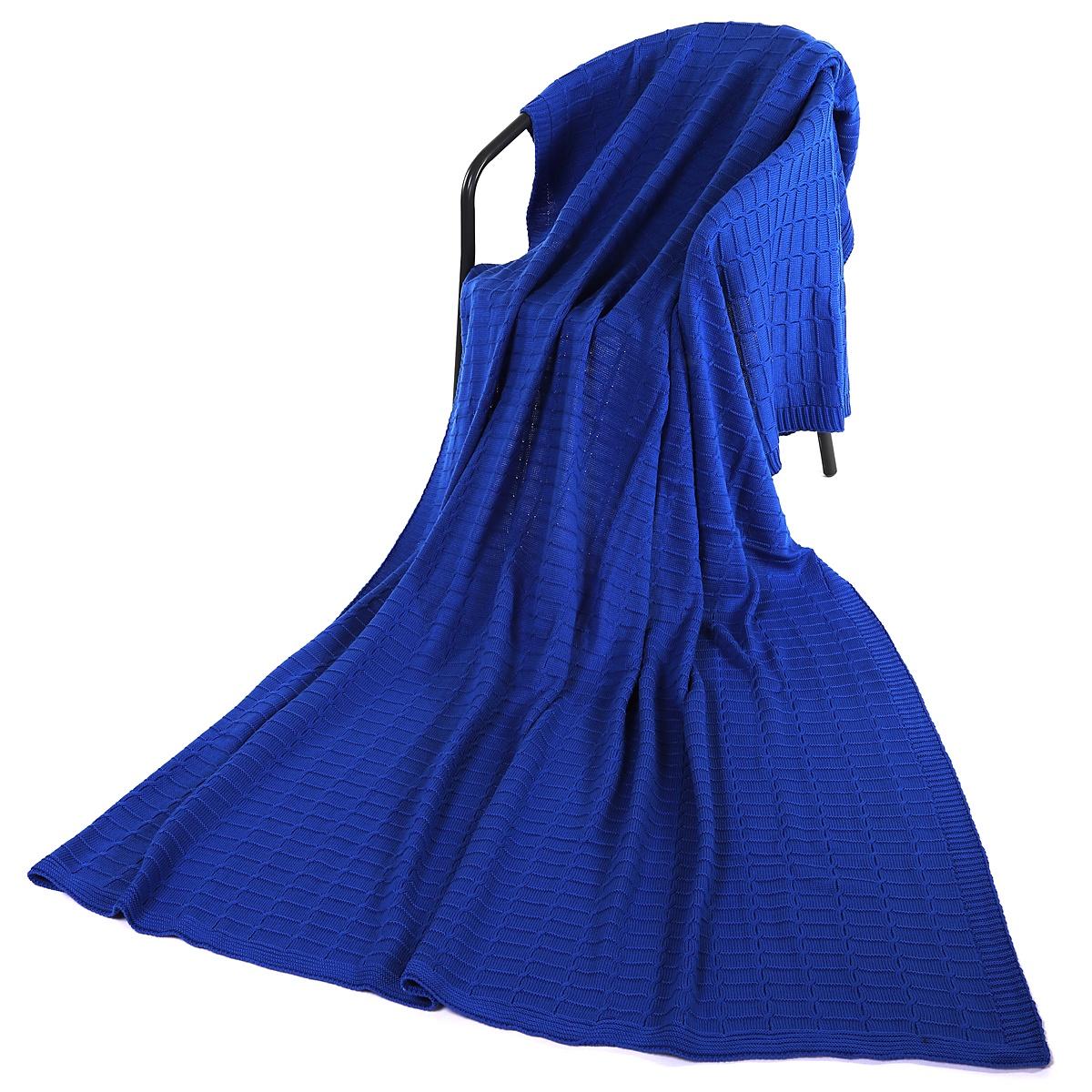 Плед ANRI АНРИ-П-4200х220079-200х220, синий