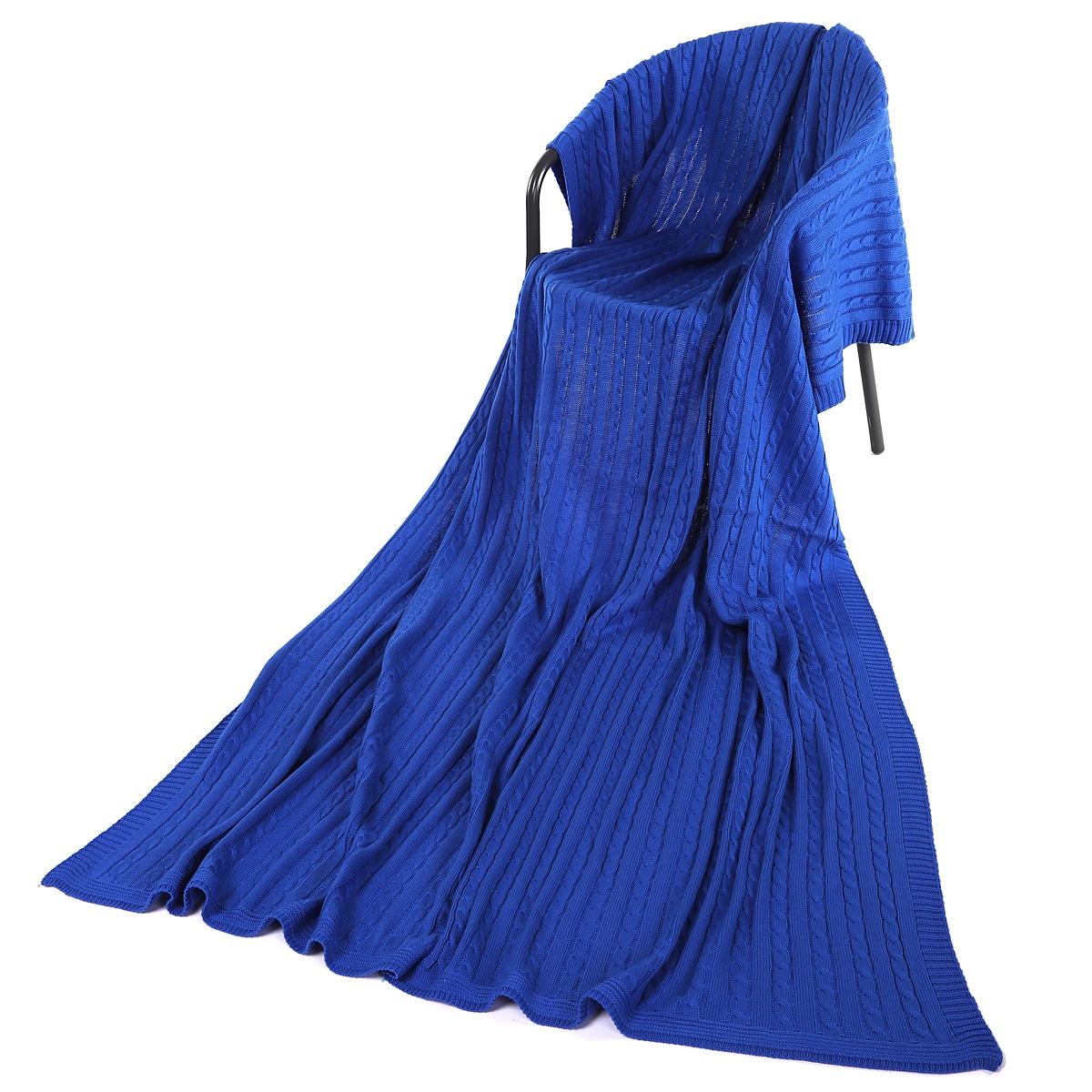 Плед ANRI АНРИ-П-3200х220079-200х220, синий