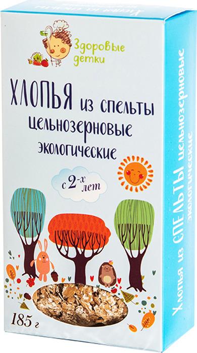 Спельтовые хлопья Здоровые детки, 185 г