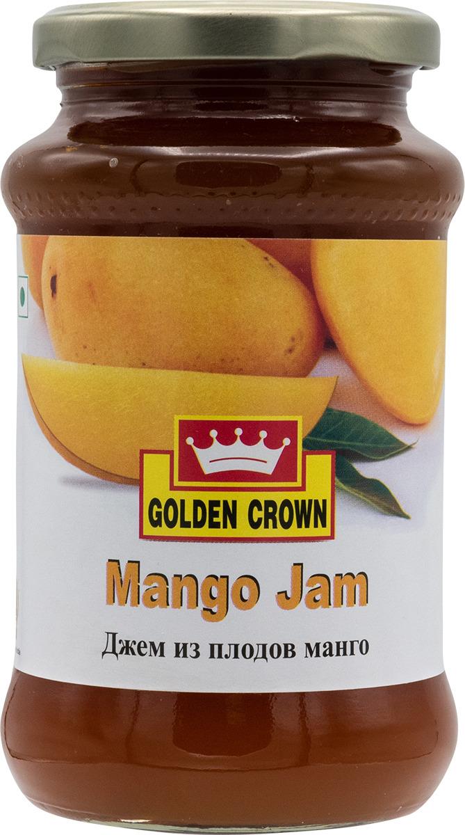 Джем Golden Crown из плодов манго, 500 г Golden Crown