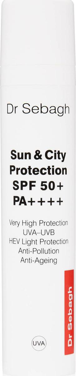 Защитный крем городской Dr Sebagh SPF 50, антивозрастное действие, 50 мл
