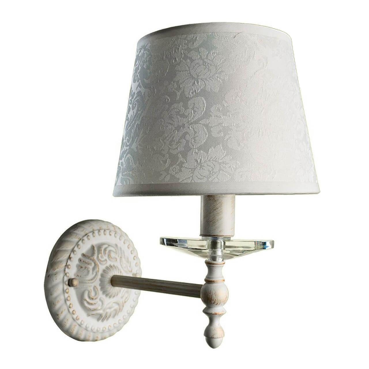Бра Arte Lamp A9566AP-1WG, белый бра светильник настенный arte lamp a9566ap 1wg