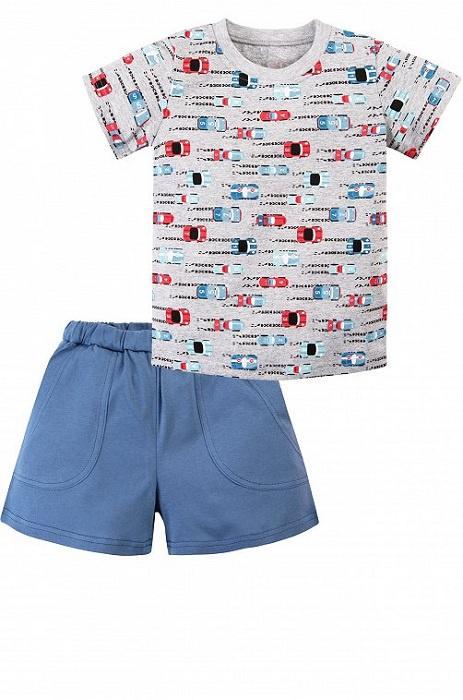 Комплект одежды Веселый малыш комплект одежды для мальчика let s go футболка шорты цвет темно голубой серый 4219 размер 98
