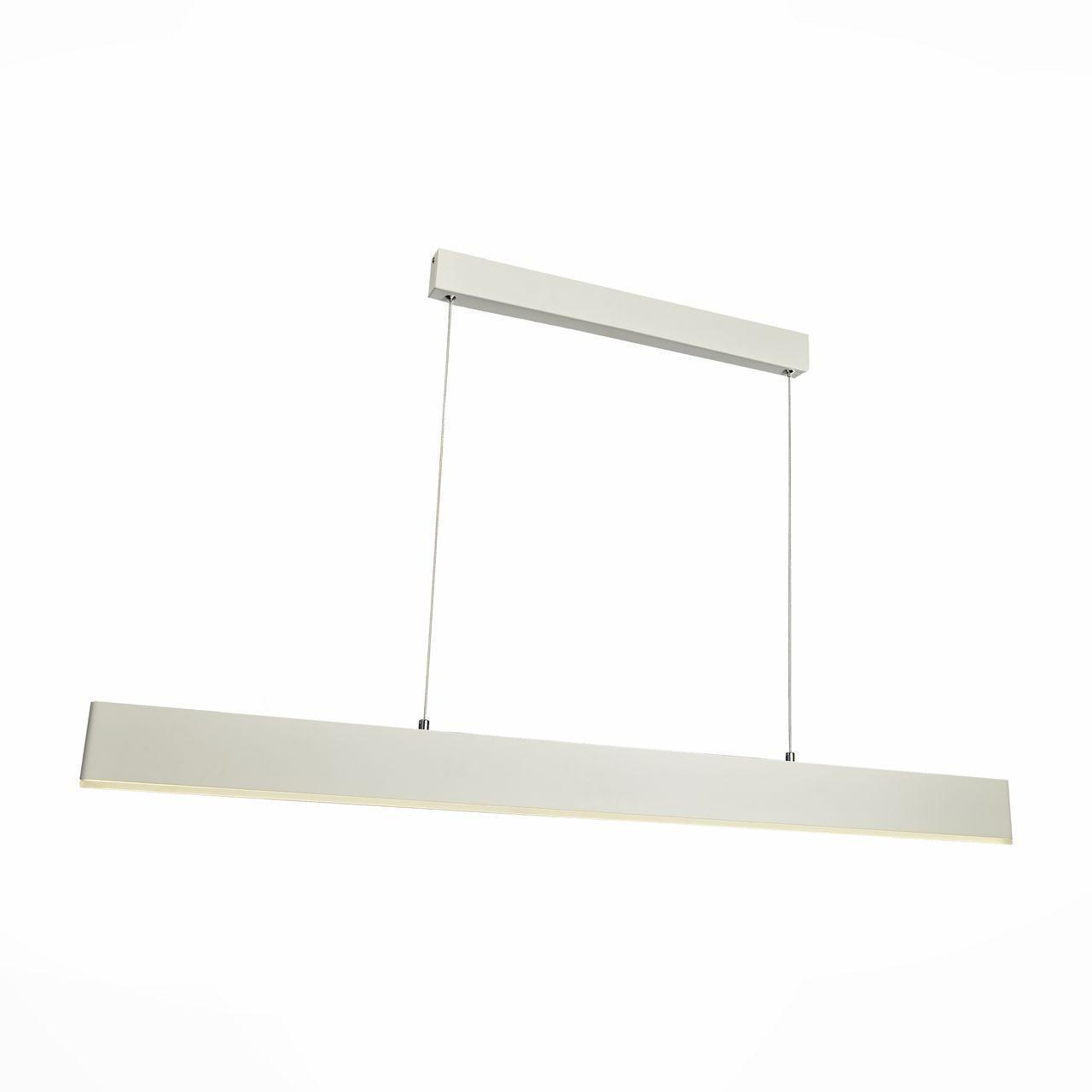 Фото - Подвесной светильник ST Luce SL567.553.01, белый светильник подвесной st luce trina sl274 503 03 3xe27x40w 50 x 50 x 138 см