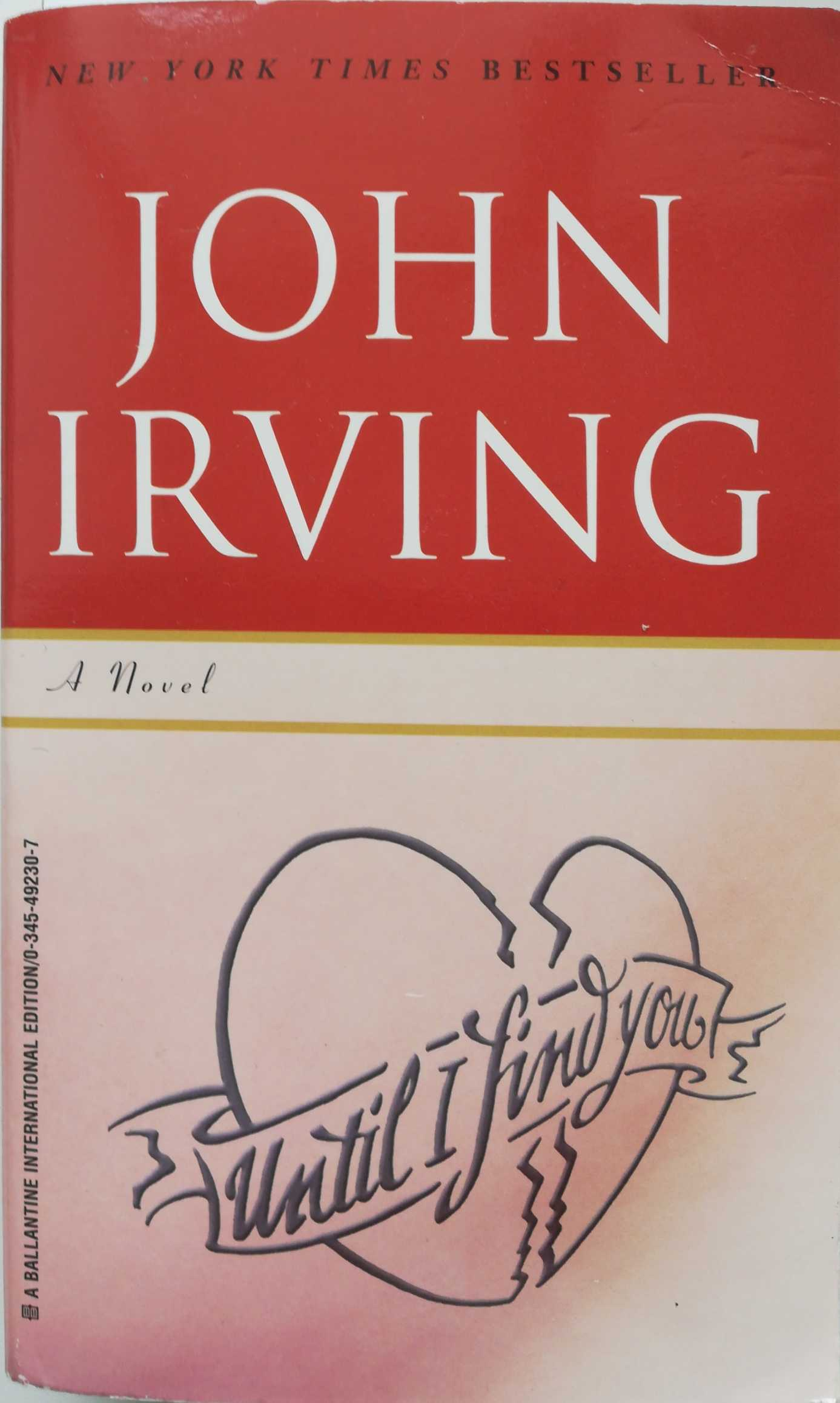 Irving John. Until I Find You