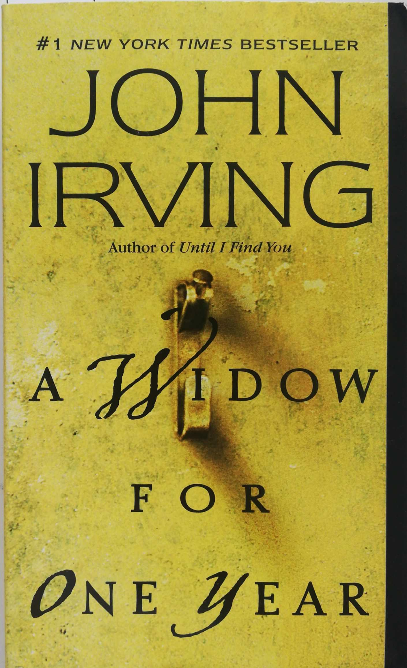 Irving John. A Widow for One Year