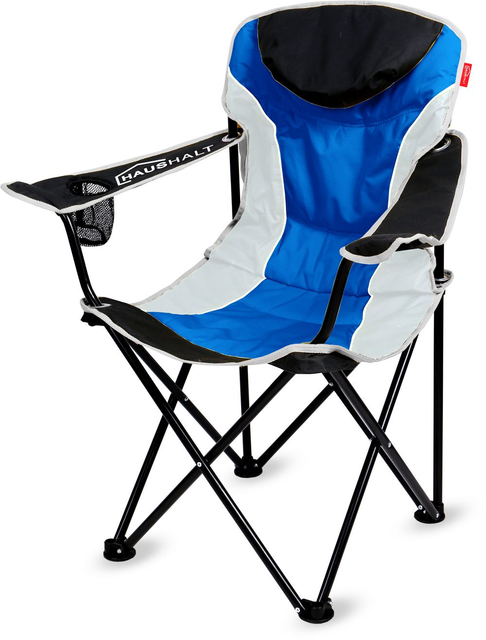 Стул складной Haushalt HHC3/B синий стул складной 400х300х300 мм