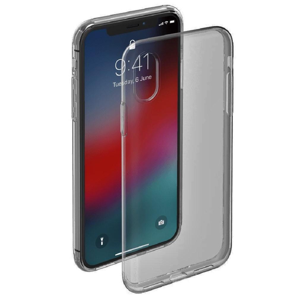 Чехол для сотового телефона ONZO iPhone XR, черно-серый, серый