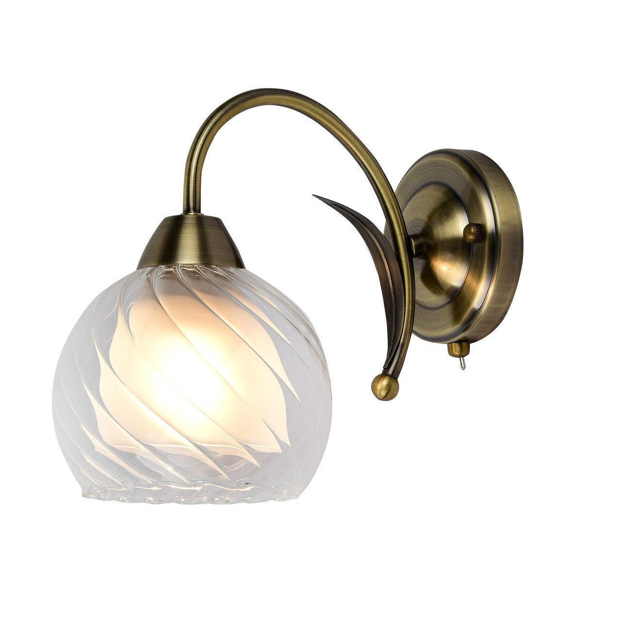 Бра Arte Lamp A1607AP-1AB, E27, 60 Вт arte lamp a9518pl 2ba