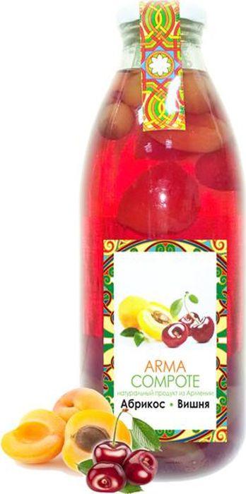 Компот ARMA из абрикоса и вишни, 750 мл arma лечо 450 мл