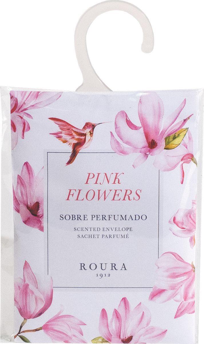 Саше ароматическое Roura Розовые цветы, 395550.130, 13 х 9 см набор сундучков roura decoracion 3 шт 34783
