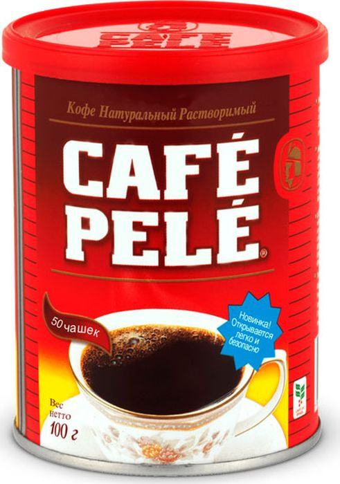 лучшая цена Кофе растворимый Pele порошкообразный, 100 г