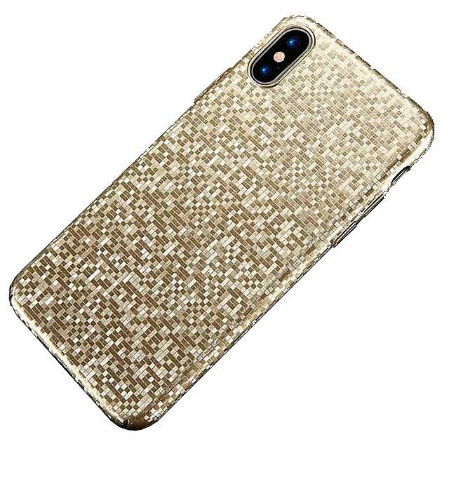 Чехол для сотового телефона Floveme Ультратонкий мозаичный для iPhone X, золотой мозаичный декор ibero inspire vanilla 31 6x31 6