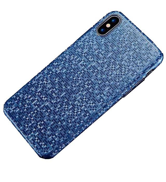 Чехол для сотового телефона Floveme Ультратонкий мозаичный для iPhone X, синий мозаичный декор serenissima canalgrande mosaico hive 30x30
