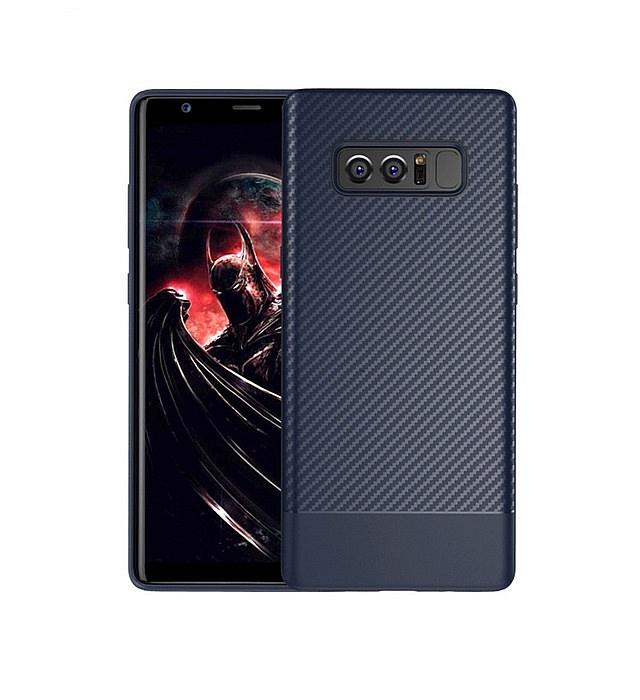 Чехол для сотового телефона Floveme с карбоновой фактурой для Samsung Galaxy Note 8, темно-синий wierss темно синий для samsung galaxy j6 2018
