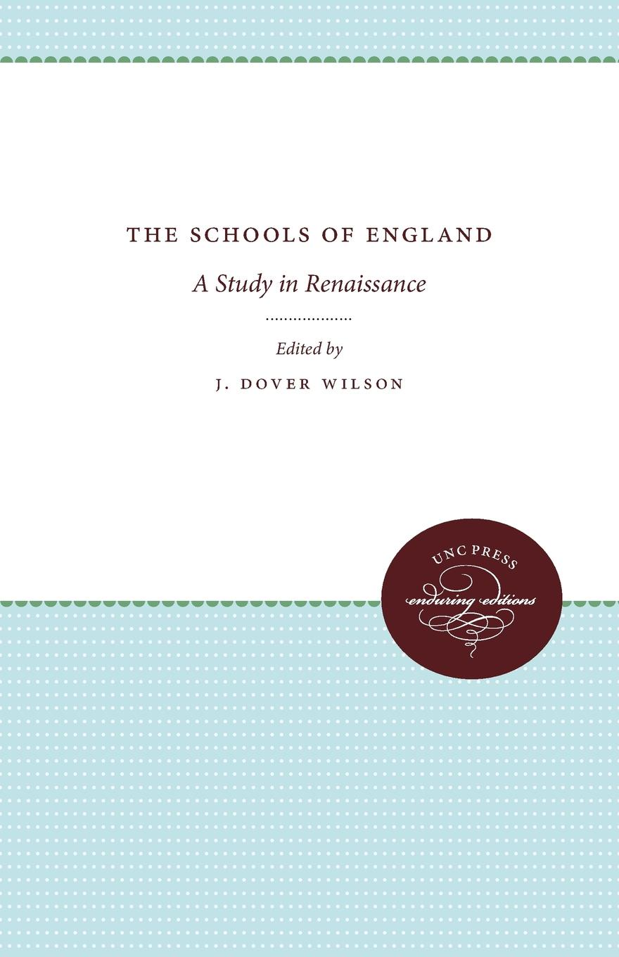 The Schools of England. A Study in Renaissance george lucas education nation six leading edges of innovation in our schools