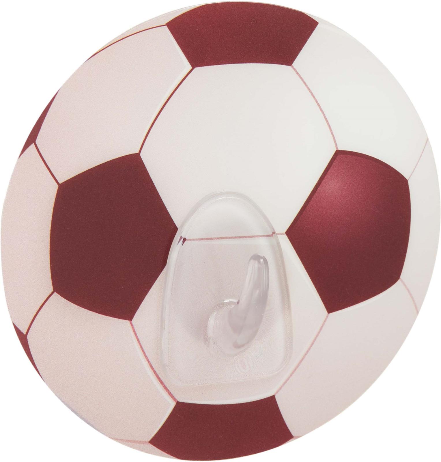 Крючок для ванной Kleber Home Футбол, на силиконовом креплении, kle-hm021, белый стоимость