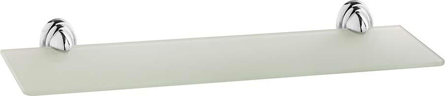 Полка для ванной комнаты Fora Noval, N034, серебристый цена