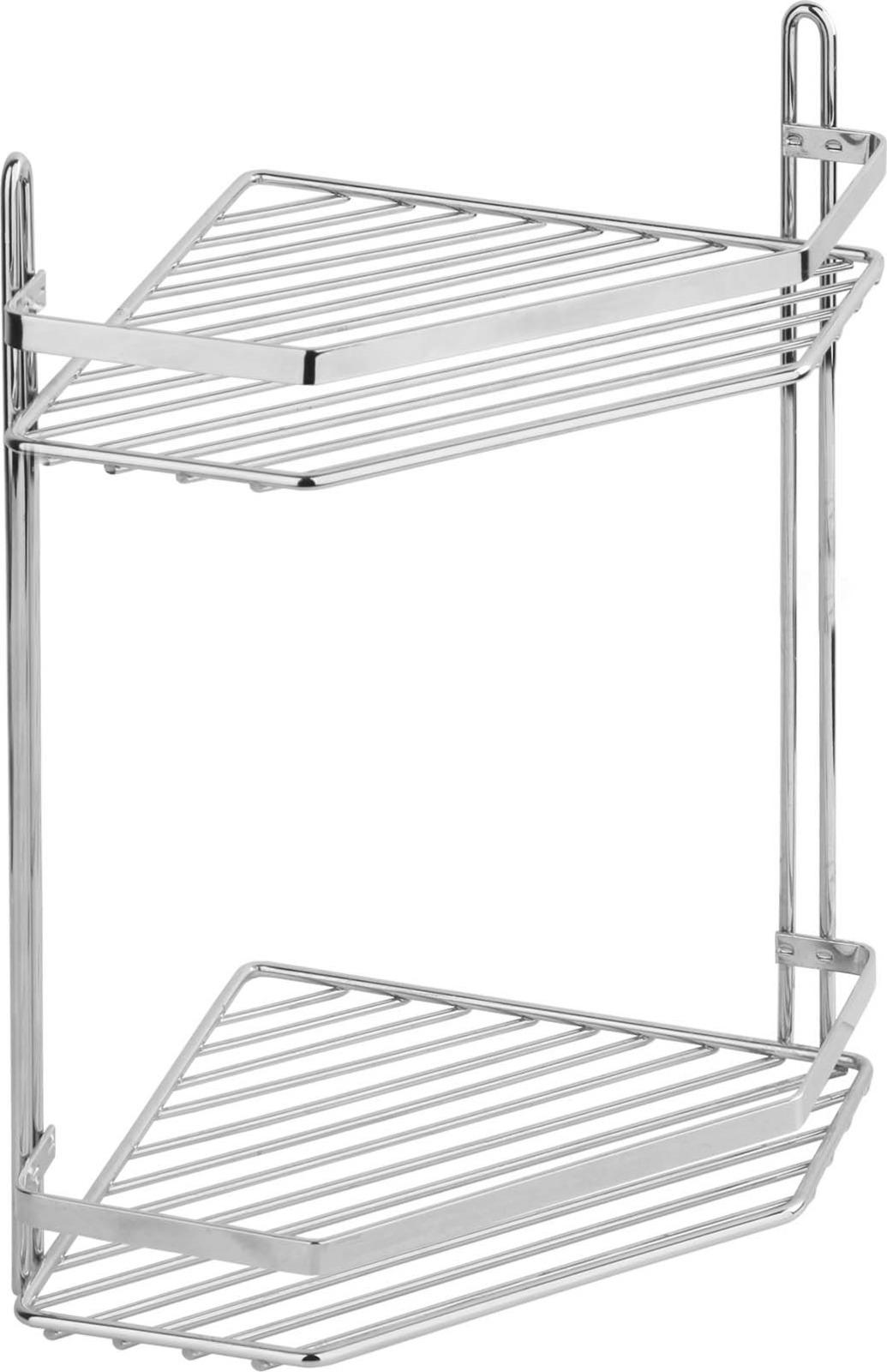 Полка для ванной комнаты Fora Corsa, KOR-628, серебристый полка для ванной комнаты fora triumf на присоске t033 серебристый