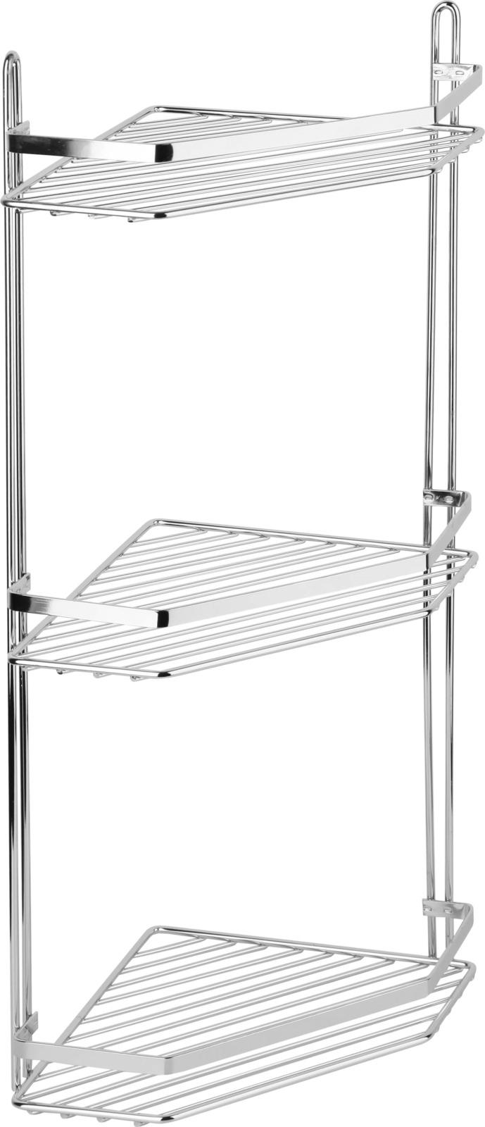 Полка для ванной комнаты Fora Corsa, KOR-629, серебристый полка для ванной комнаты fora triumf на присоске t033 серебристый