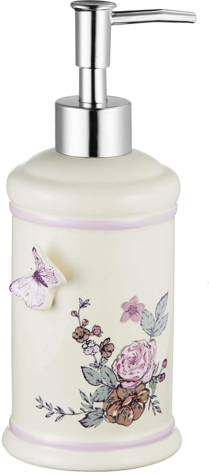 Диспенсер для мыла Fora Butterfly, FOR-BF021, белый