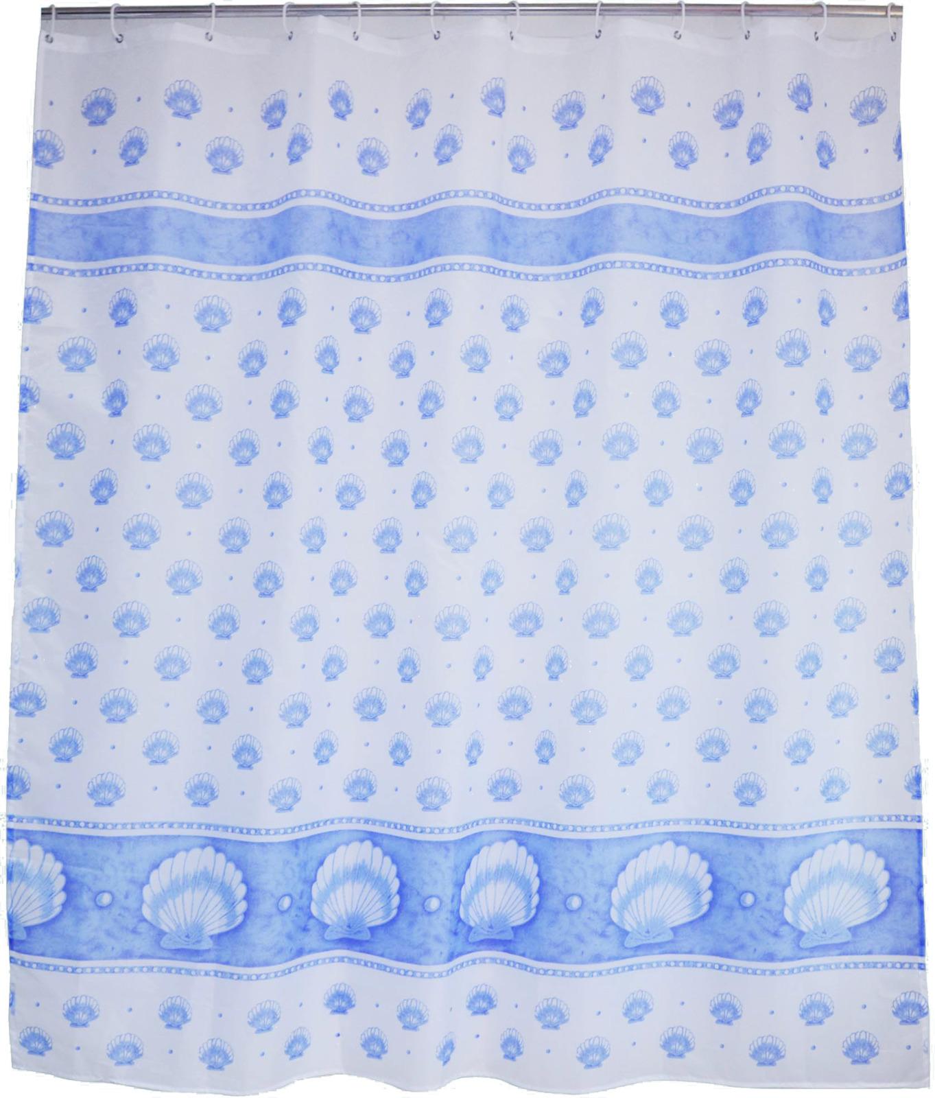 все цены на Штора для ванной Fora Голубой Жемчуг, PH69, 180 х 180 см онлайн