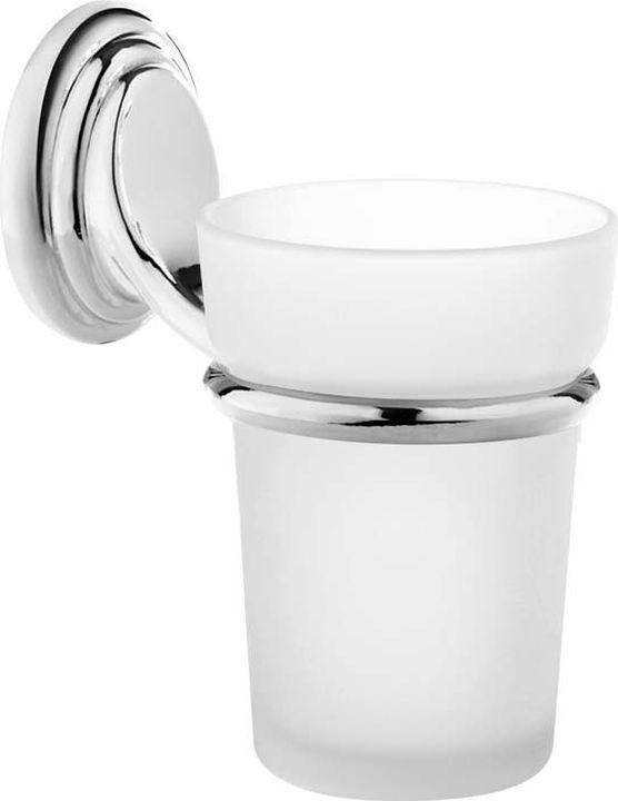 Стакан для ванной комнаты Fora Noval, N044, серебристый цена