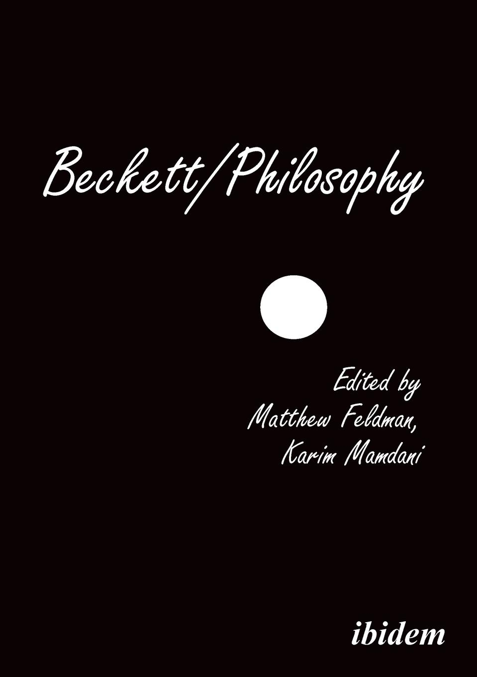 Matthew Feldman, Donald Verene, Erik Tonning Beckett/Philosophy. A Collection bronwyn williams beckett s birthright