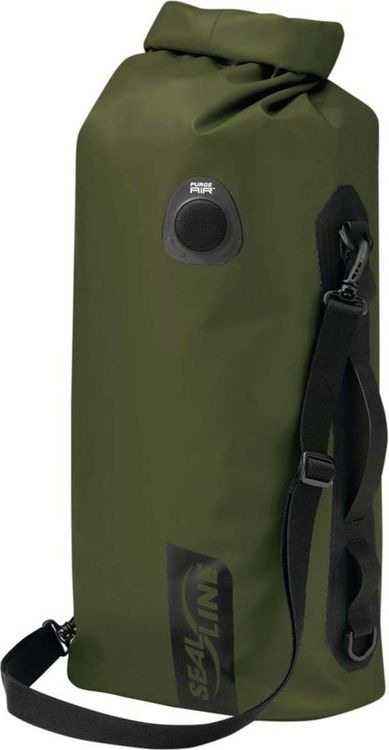 Гермомешок Sealline Discovery Deck Bag, 09670, оливковый, 20 л гермомешок sealline sealline discovery view dry bag 10l темно зеленый 10л