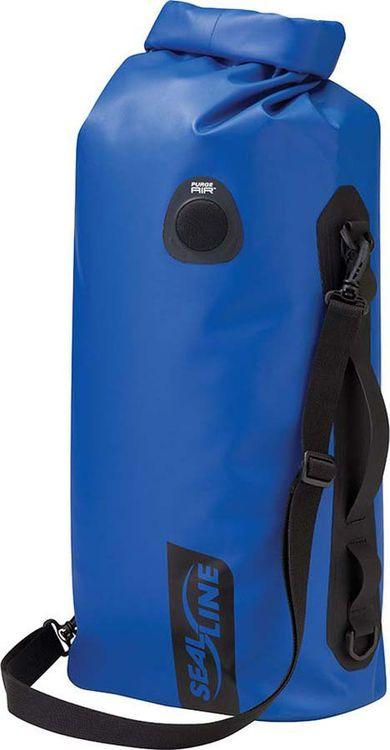 Гермомешок Sealline Discovery Deck Bag, 09672, синий, 20 л гермомешок sealline sealline discovery view dry bag 10l темно зеленый 10л
