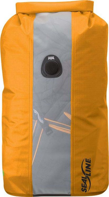 Гермомешок Sealline Bulkhead View Dry Bag, 09682, оранжевый, 10 л цена