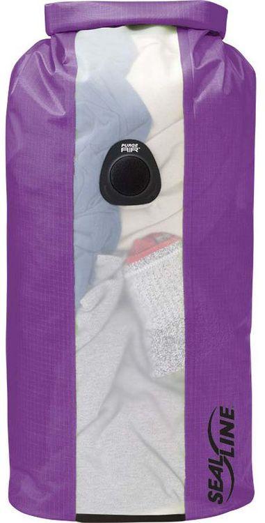 Гермомешок Sealline Bulkhead View Dry Bag, 09685, фиолетовый, 20 л