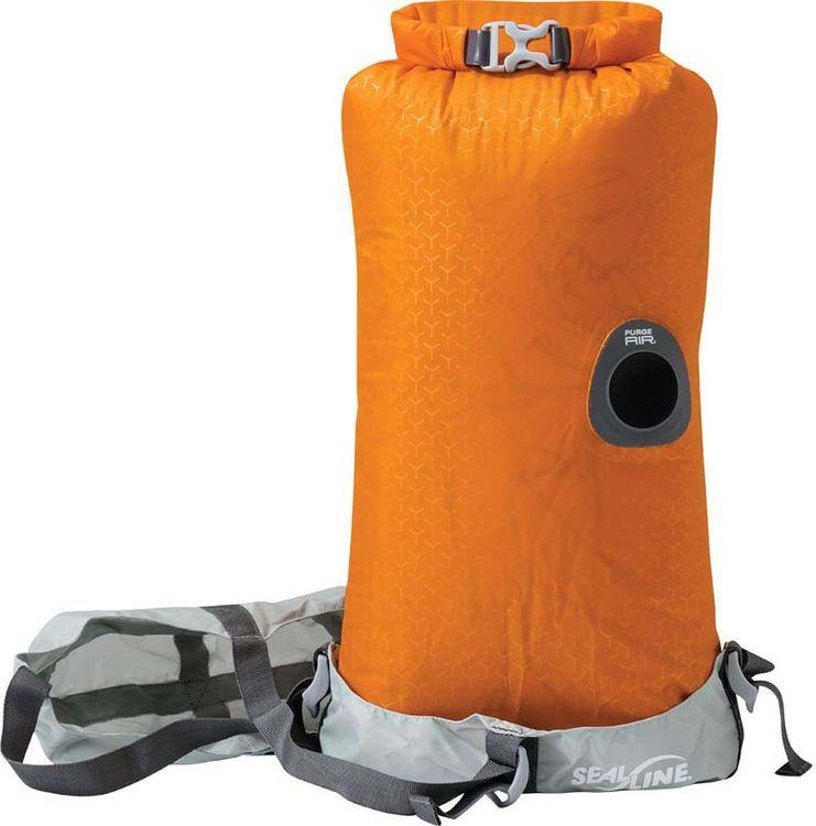 цена на Гермомешок Sealline Blocker Dry Compress, 09785, оранжевый, 10 л
