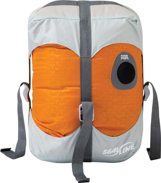 цена на Гермомешок Sealline Blocker Dry Compress, 09786, оранжевый, 20 л