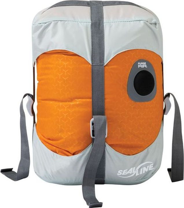 Гермомешок Sealline Blocker Dry Compress, 09787, оранжевый, 30 л