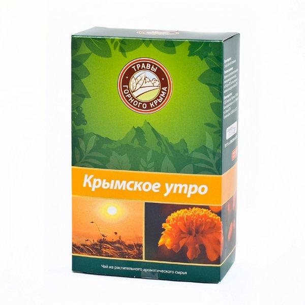 ци травы чай здоровья травяной чай pingyin роза чай 55г Травяной чай Крымское утро