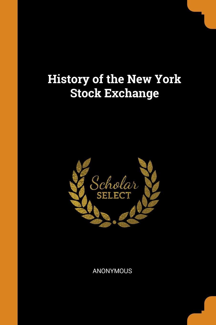 M. l'abbé Trochon History of the New York Stock Exchange free shipping lt1037amj8883 goods in stock and new original