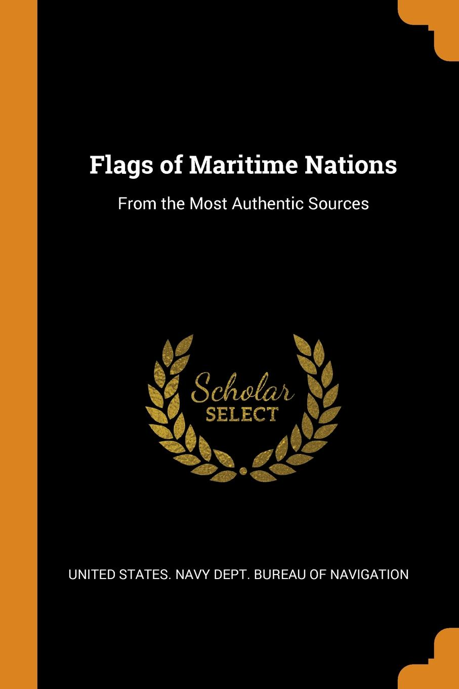 Flags of Maritime Nations. From the Most Authentic Sources [zob] the united states bussmann 170m3815 200a 690v fuse original authentic